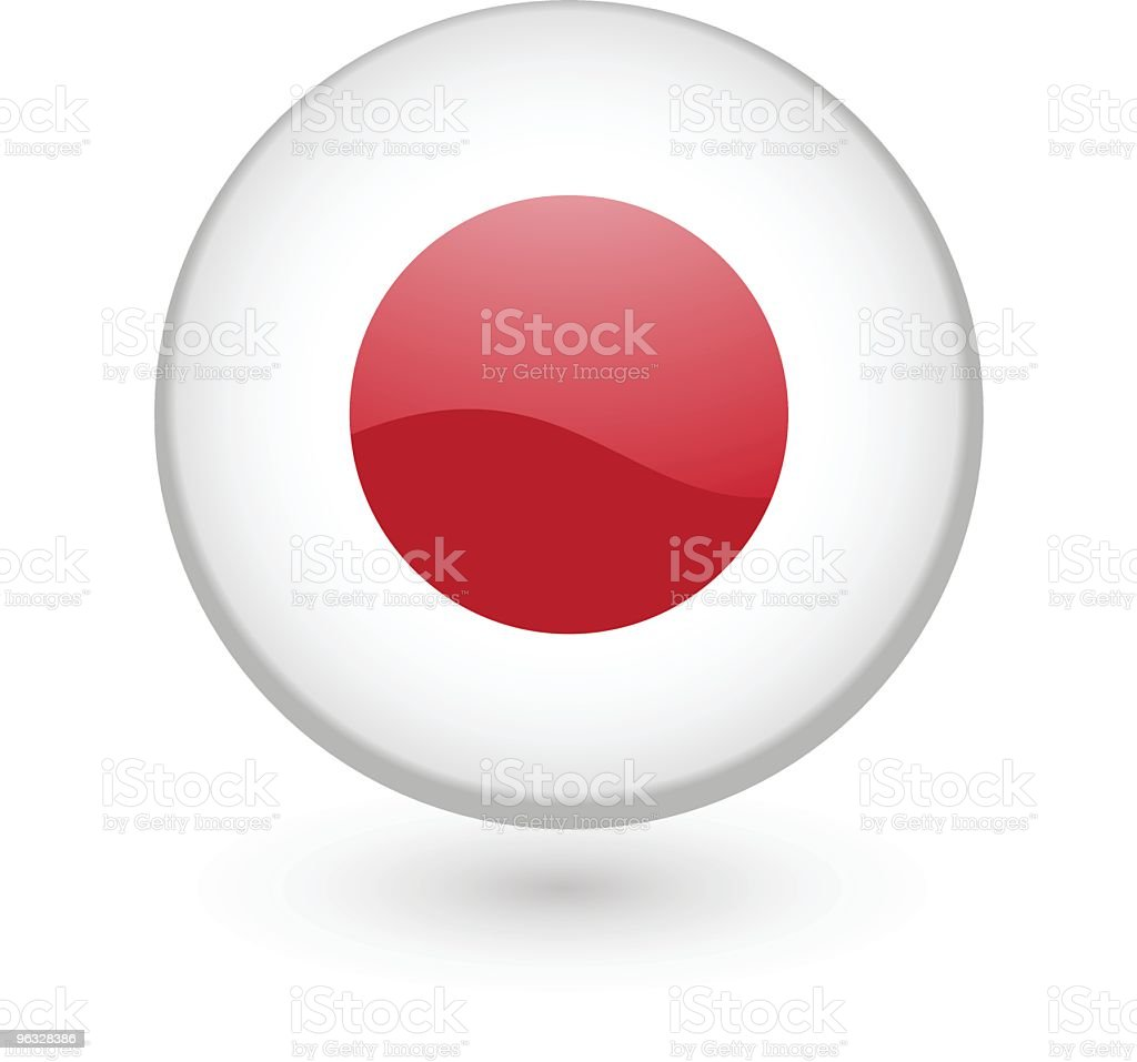 badge japan flag clip art, vector images & illustrations - istock