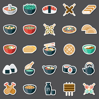 Japanese Food Sticker Set
