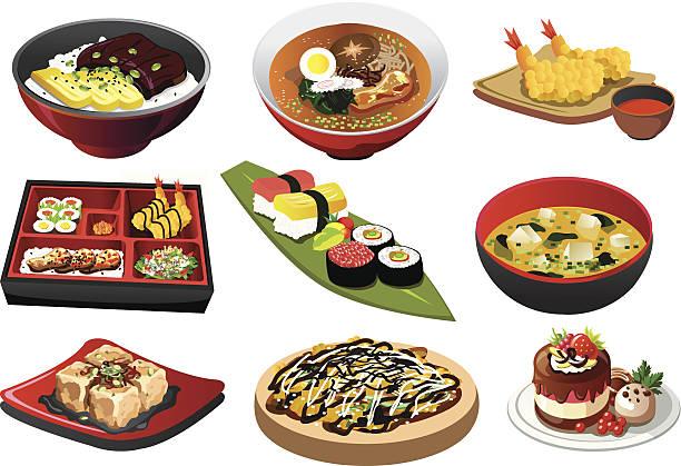 Okonomiyaki Illustrations, Royalty-Free Vector Graphics ...
