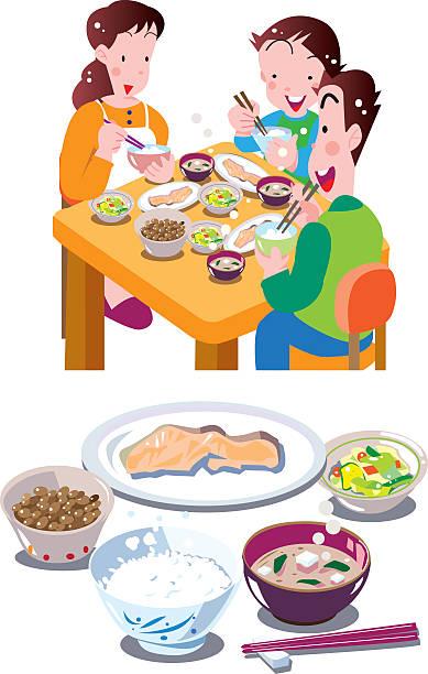 日本の料理  - 和食点のイラスト素材/クリップアート素材/マンガ素材/アイコン素材