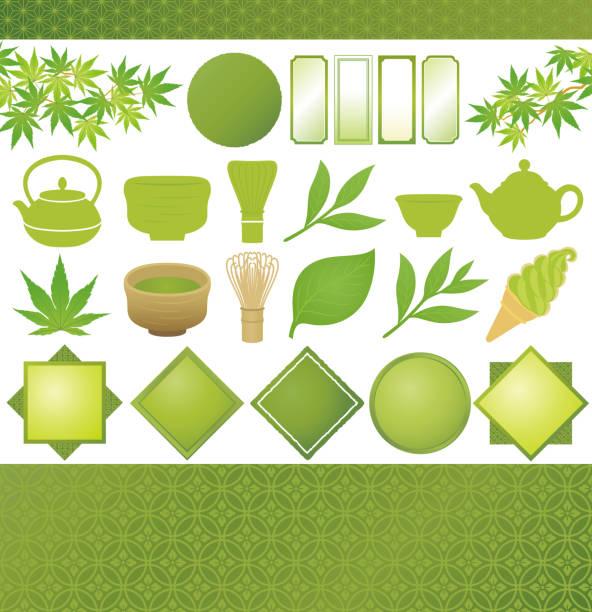 日本の緑茶。 - 抹茶点のイラスト素材/クリップアート素材/マンガ素材/アイコン素材