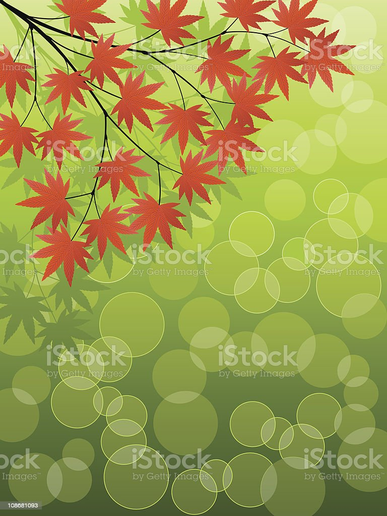 Japanese Maple royalty-free japanese maple stock vector art & more images of abstract