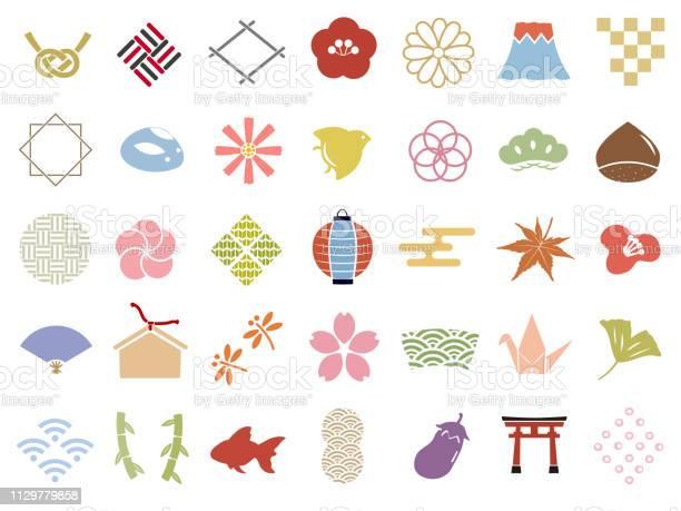 Japanese pattern icon stamp set vector id1129779858?b=1&k=6&m=1129779858&s=612x612&h=turykg2tihvbnq by48a9k6j4z0bk m5yz1uezquz5m=