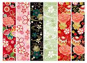Japanese pattern set