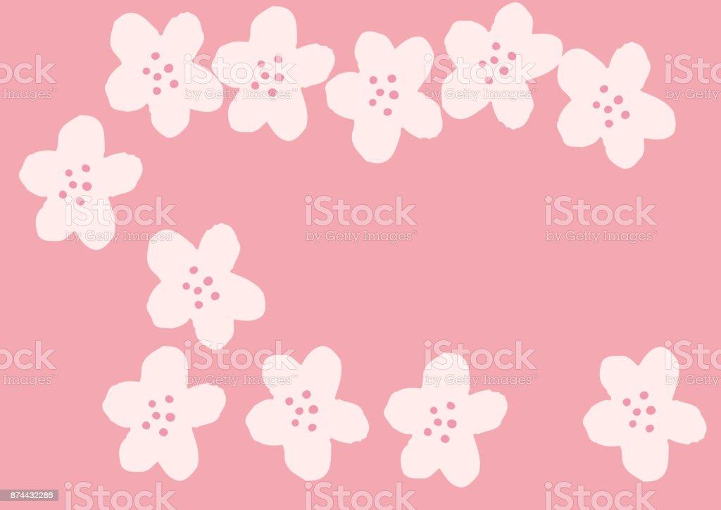 Japanese Calendar Design : Japanese pattern spring in japan image of calendar