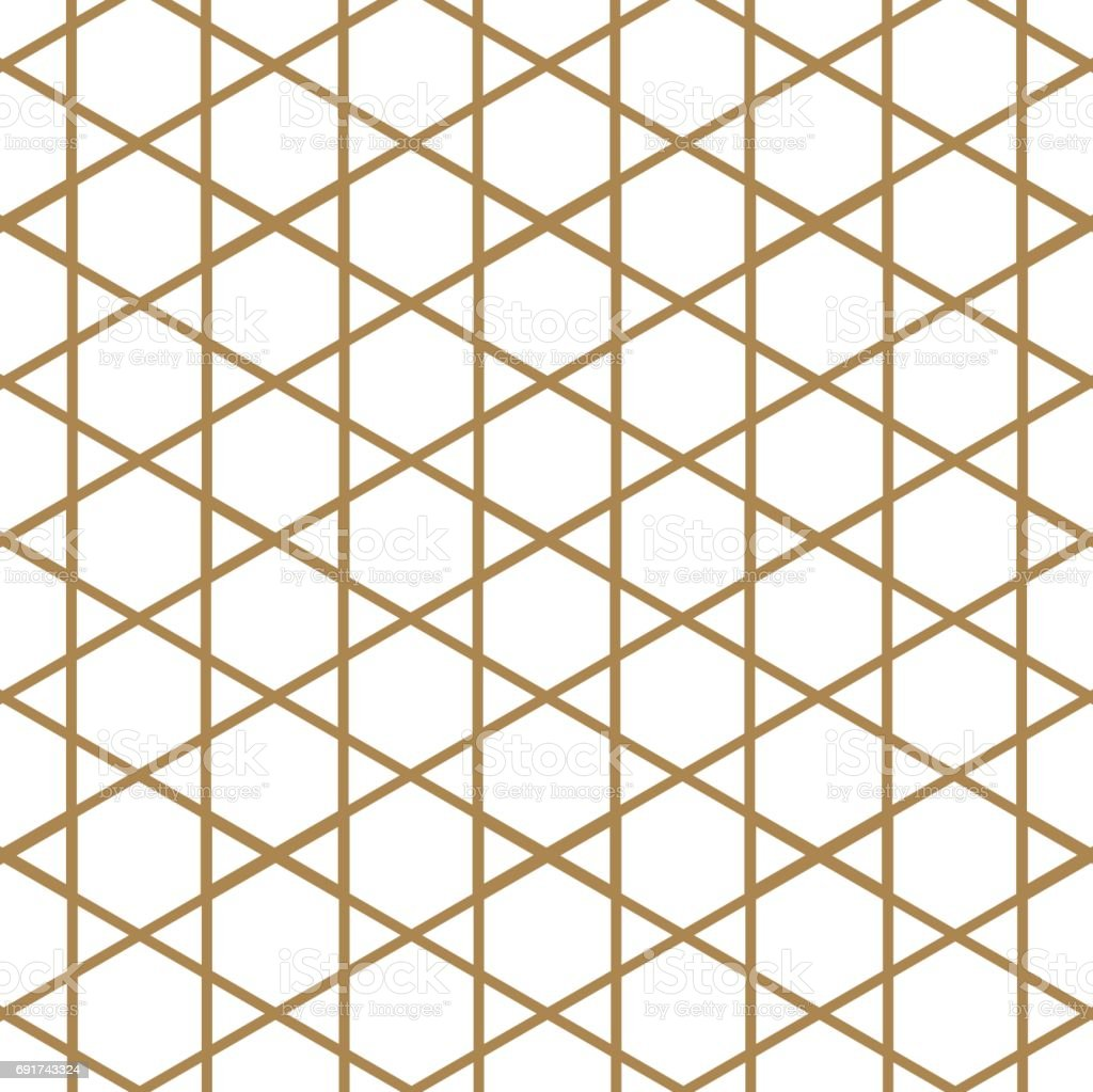 japanese pattern vector gold geometric background and texture stock rh istockphoto com islamic geometric patterns vector free geometric patterns triangle vector