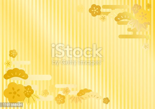 Japanese traditional pattern vector background.