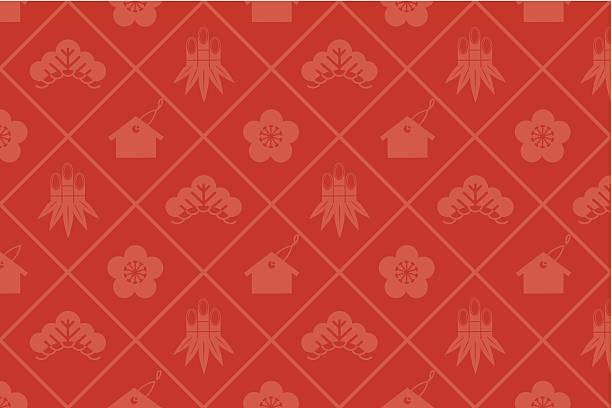 japanese pattern Vector vector art illustration
