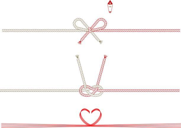 日本のリボン - 特別な日点のイラスト素材/クリップアート素材/マンガ素材/アイコン素材