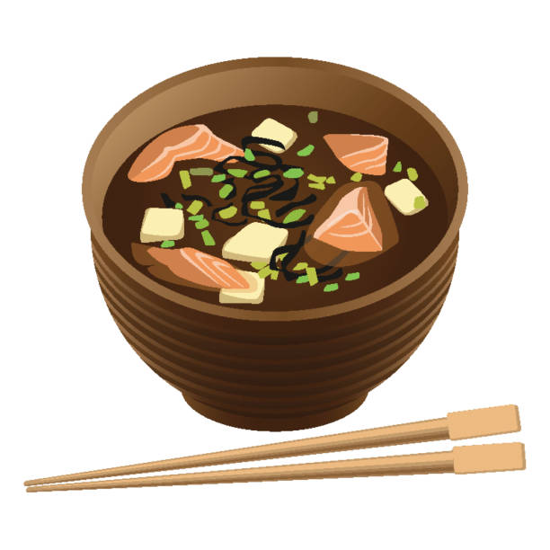 Best Miso Soup Illustrations, Royalty-Free Vector Graphics ... (612 x 612 Pixel)
