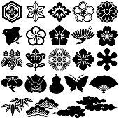 Japanese traditional design. vector illustration.