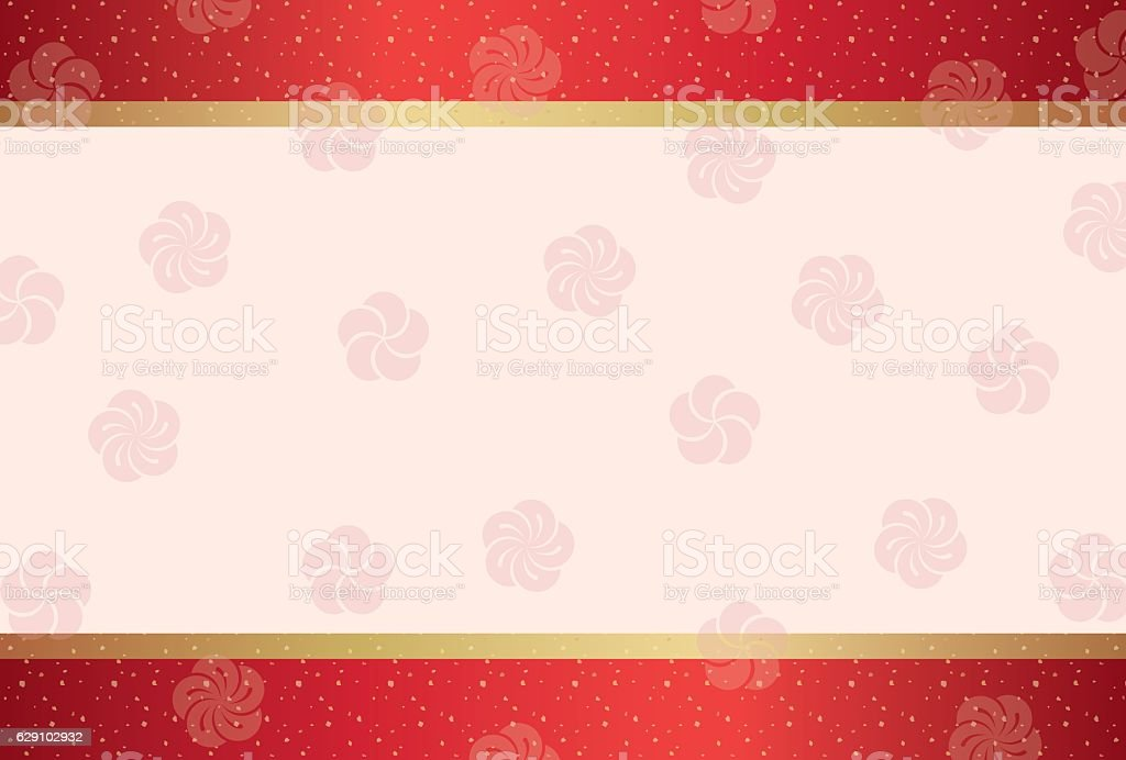 Japanese traditional pattern background vector art illustration