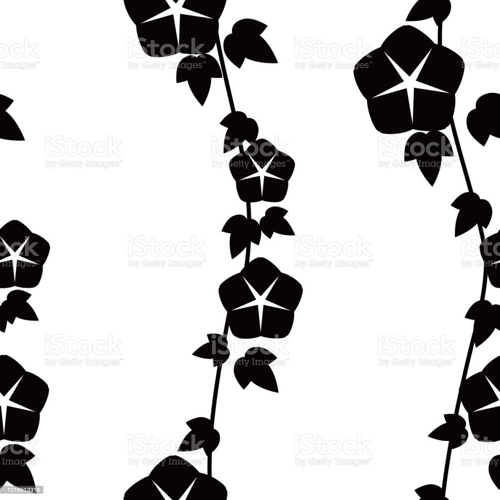 Japanese Traditional Pattern Morning Glory Pattern Stock Illustration Download Image Now Istock