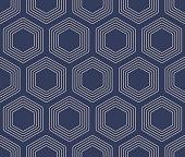 Japanese Turtle Shell Seamless Pattern