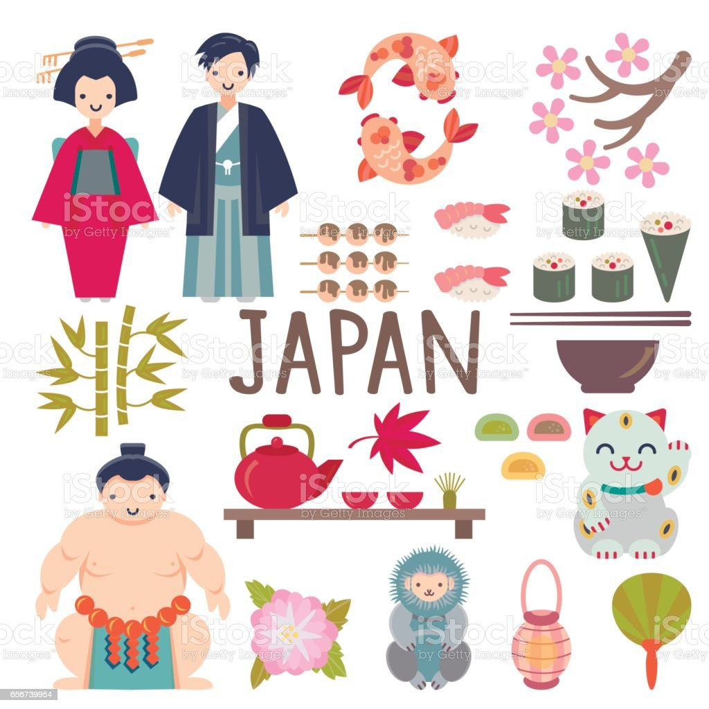 japanese vector collection stock vector art more images of asia rh istockphoto com japanese victory parade singapore japanese vector art