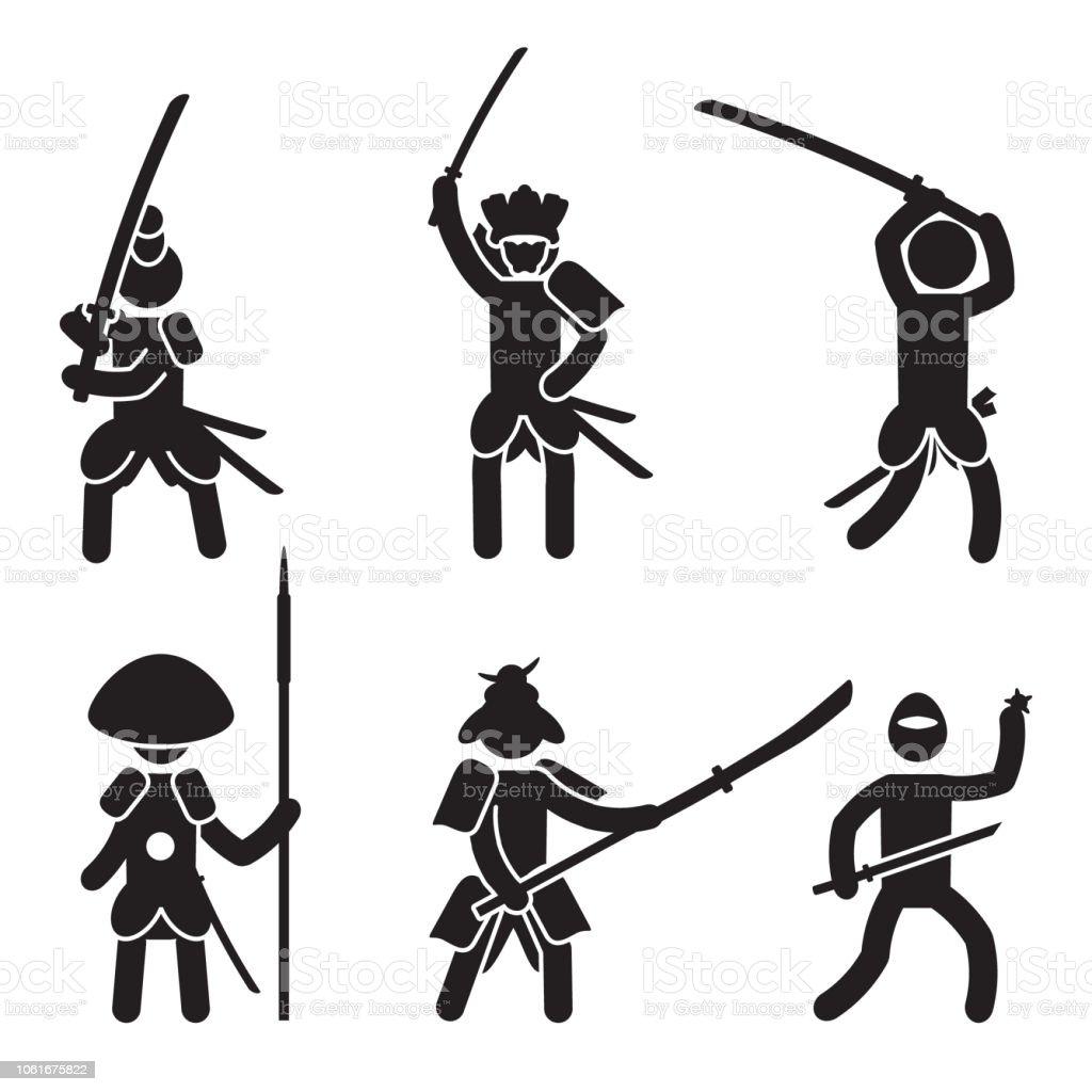 Japanese Warrior Icon ...