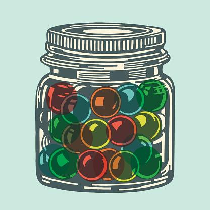 Jar of Balls