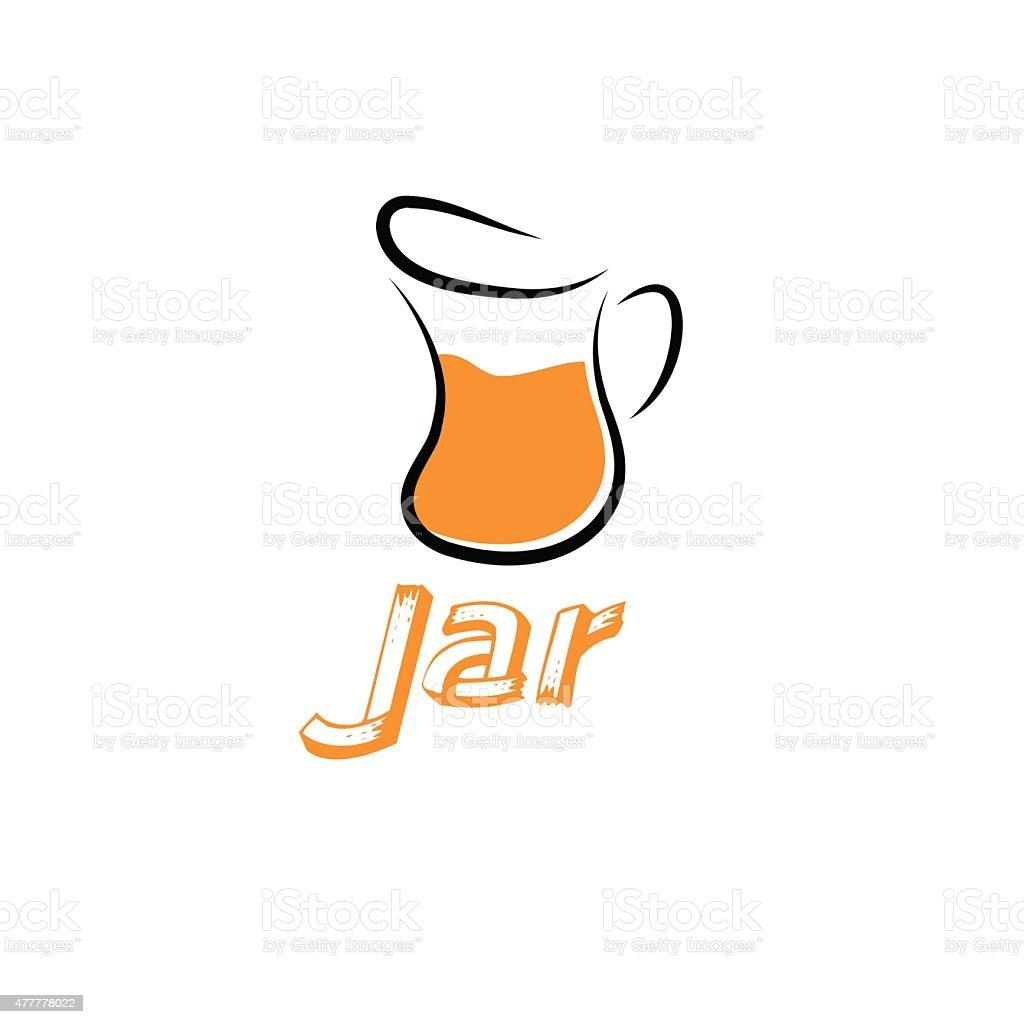 jar vector design template vector art illustration