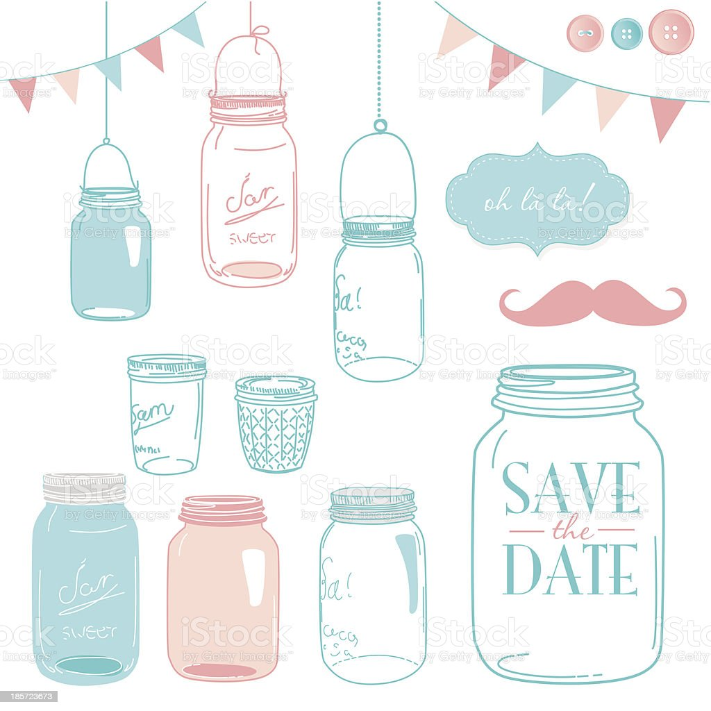 Jars royalty-free jars stock vector art & more images of backgrounds