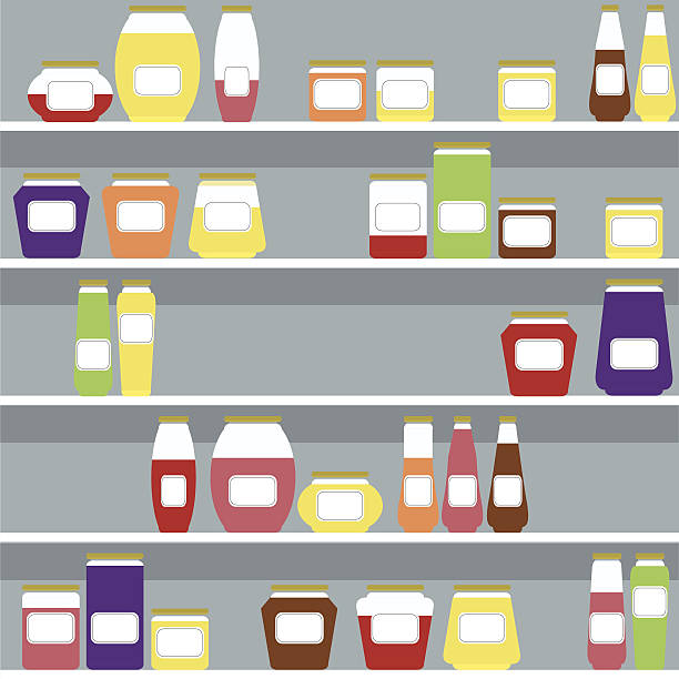Kitchen Cabinet Clip Art: Royalty Free Pantry Clip Art, Vector Images