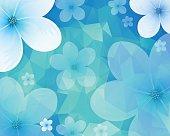 Flower Background. EPS 10 file.