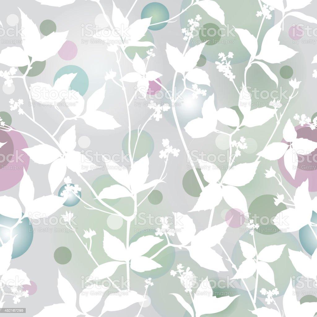 ジャスミン枝ます穏やかなガーデン Splatted シームレスな壁紙 イラストレーションのベクターアート素材や画像を多数ご用意 Istock