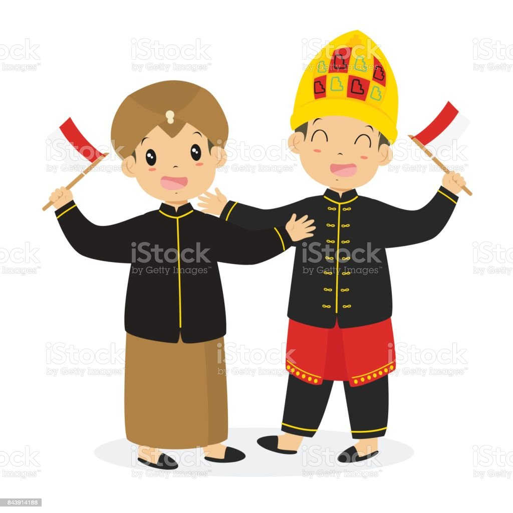 javanese and aceh kids holding indonesian flag cartoon vector stock illustration download image now istock javanese and aceh kids holding indonesian flag cartoon vector stock illustration download image now istock
