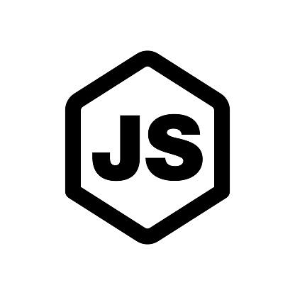 Javascript sign. Web development icon. Programming concept.