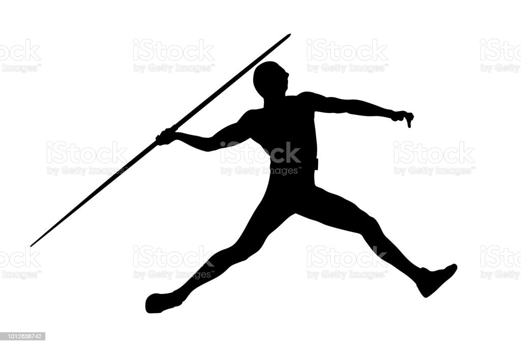 royalty free javelin clip art vector images illustrations istock rh istockphoto com Hurdle Clip Art Poison Clip Art