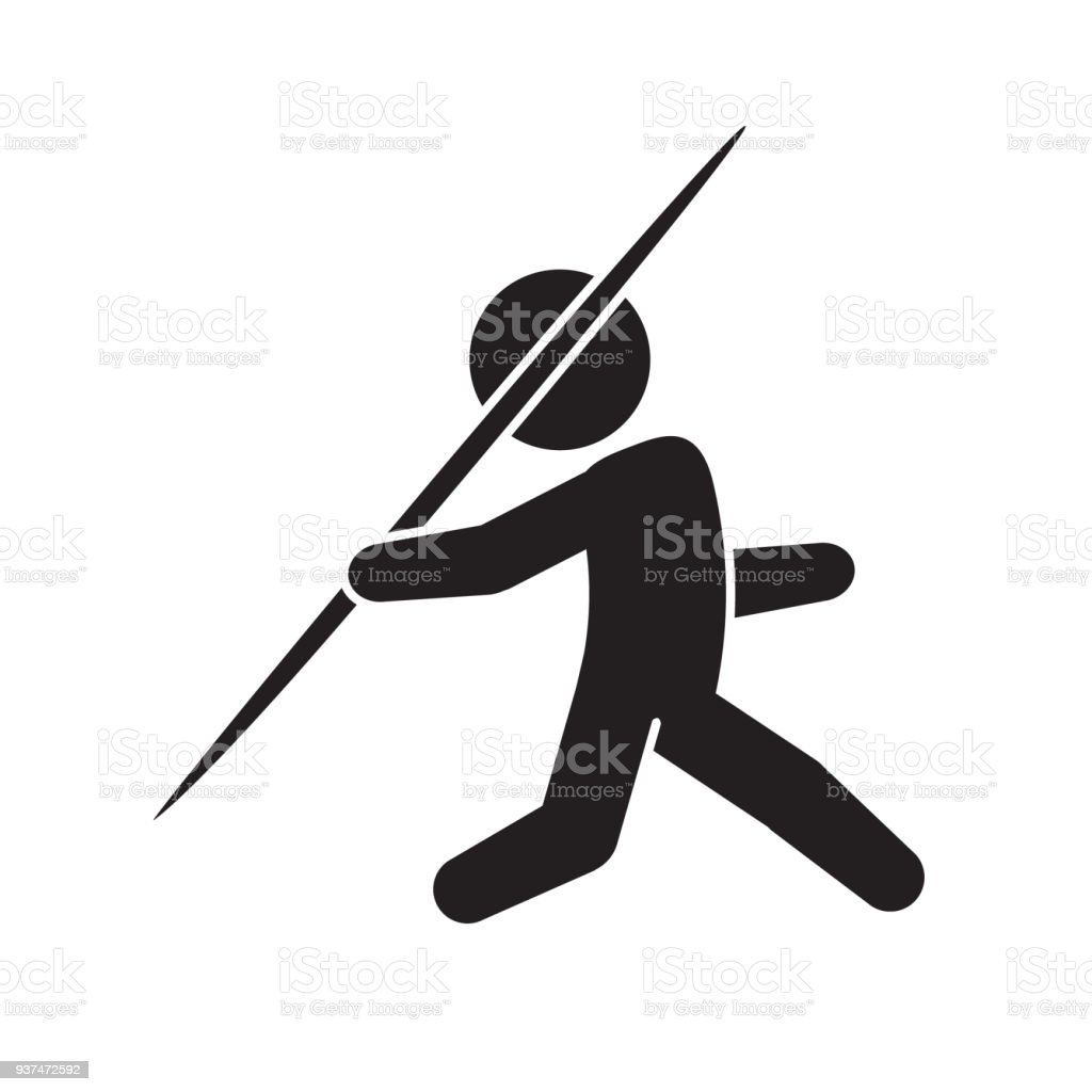 royalty free javelin clip art vector images illustrations istock rh istockphoto com Spear Clip Art Royal Borders Clip Art