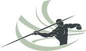 Javelin thrower (CorelDRAW 10 file attached).