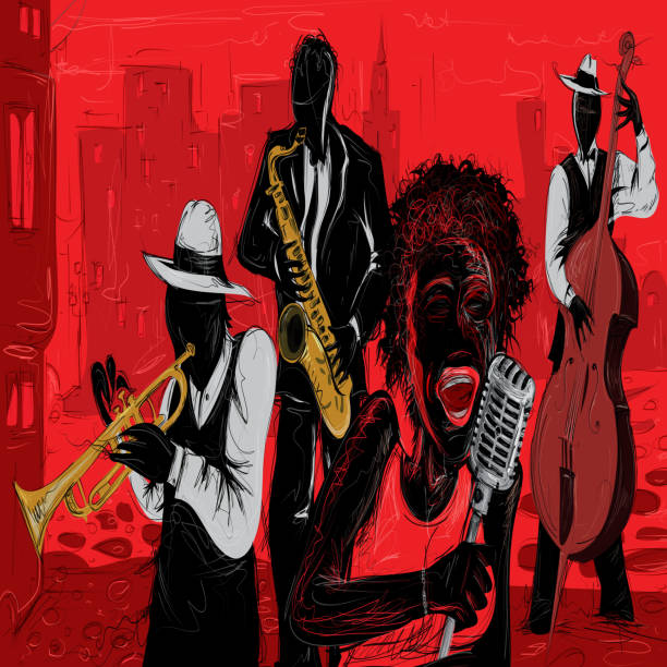 Jazz Art illustration - Illustration vectorielle