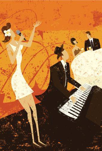 jazz club singer
