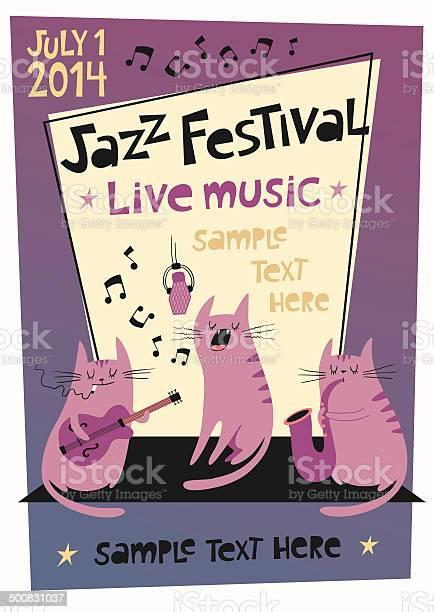 Jazz festival poster in cartoon style vector id500831037?b=1&k=6&m=500831037&s=612x612&h=uwp8mxywf8dpagrneeiexi9dr1uvzjoq6wnp5tpf5fw=