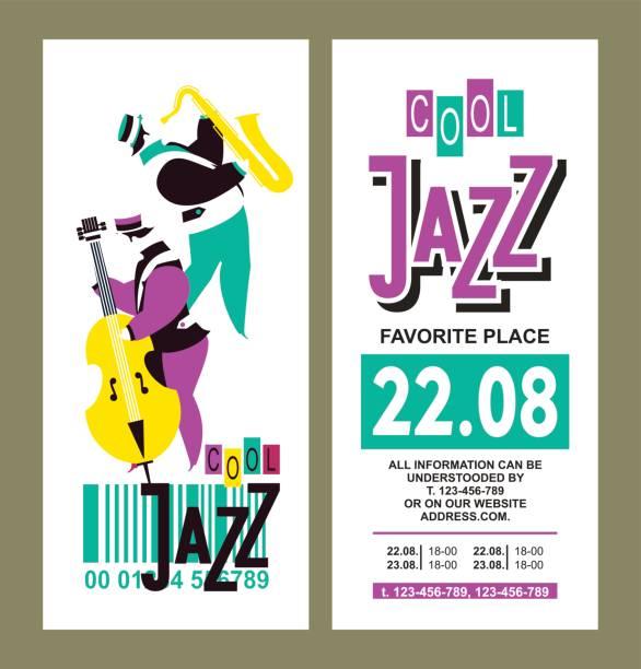 Affiche du Festival de Jazz - Illustration vectorielle
