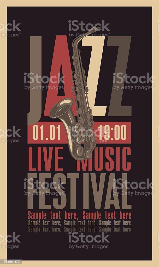 festival de jazz - Illustration vectorielle