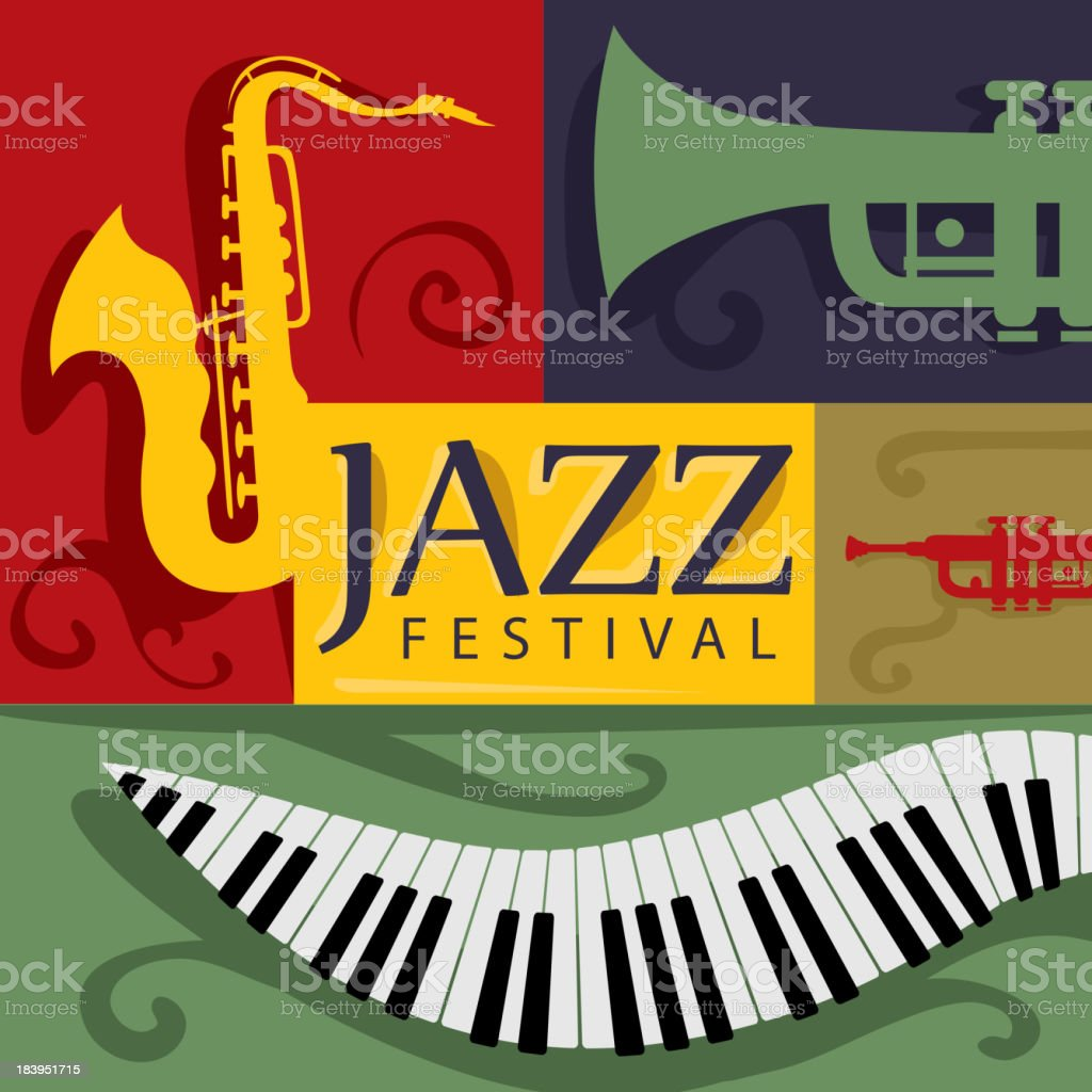 Jazz Music Festival royalty-free jazz music festival stock vector art & more images of abstract