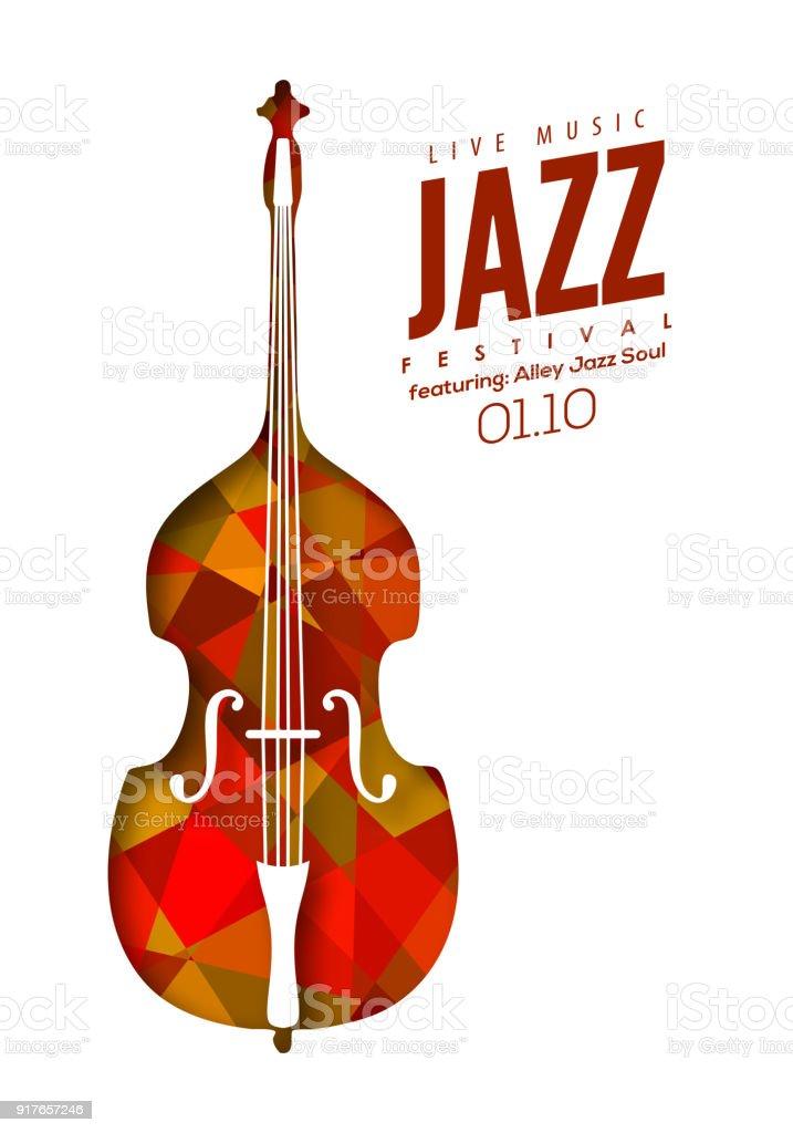 Jazzmusik Poster Hintergrund Vorlage Vektor Illustration 917657246 ...