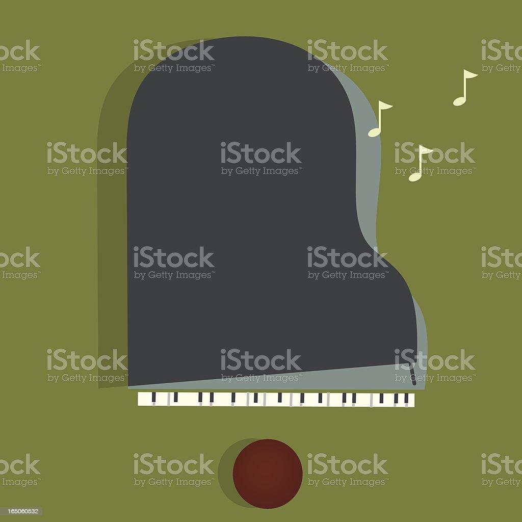 Jazz Piece vector art illustration