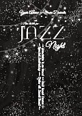 Jazz, rock or blues music poster template.