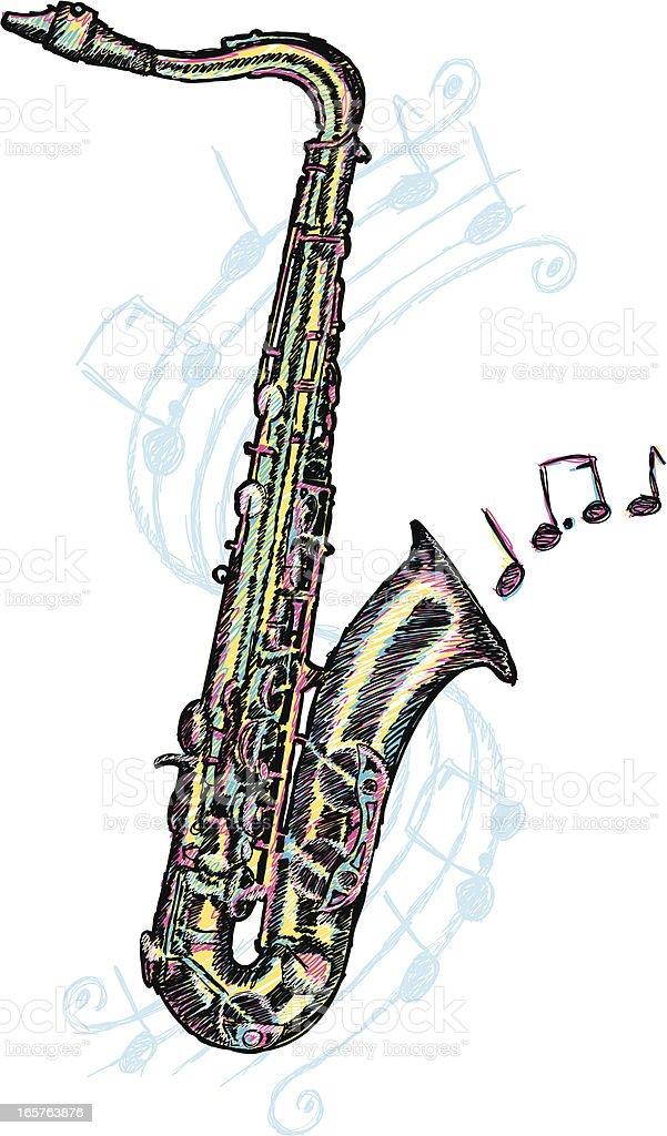 royalty free tenor sax clip art vector images illustrations istock rh istockphoto com alto saxophone clip art alto saxophone clip art