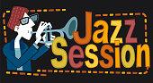 Jazz session, trumpet