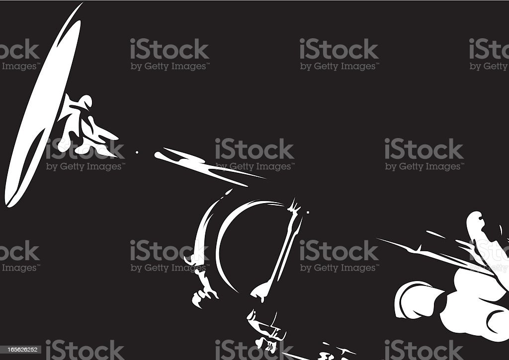 Jazz Trumpet in Silhouette royalty-free jazz trumpet in silhouette stock vector art & more images of abstract
