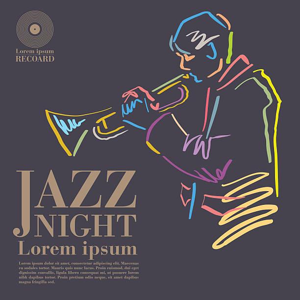 jazz - jazz stock illustrations