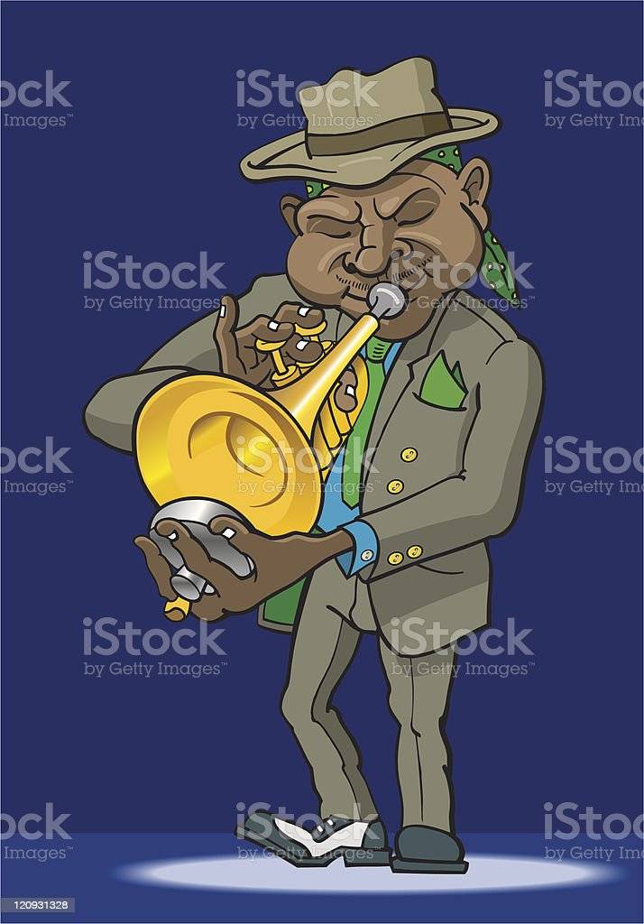 Jazzman royalty-free jazzman stock vector art & more images of african ethnicity