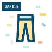 istock Jean Icon 1319188257
