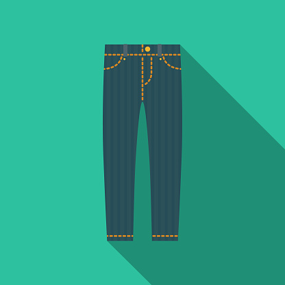 Jeans Clothing & Accessories Icon