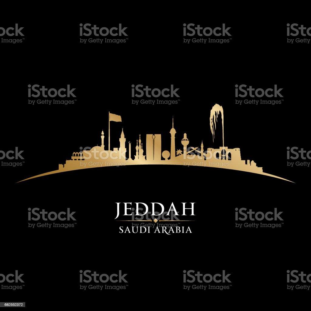 Jeddah saudi arabia city skyline silhouette stock vector art more jeddah saudi arabia city skyline silhouette royalty free jeddah saudi arabia city skyline silhouette stock publicscrutiny Images