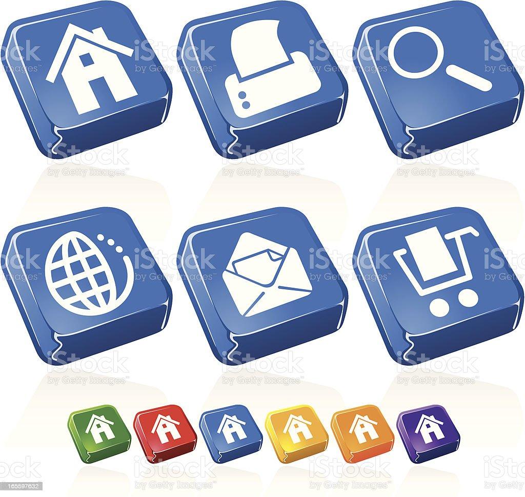 Jello botones ilustración de jello botones y más banco de imágenes de amarillo - color libre de derechos