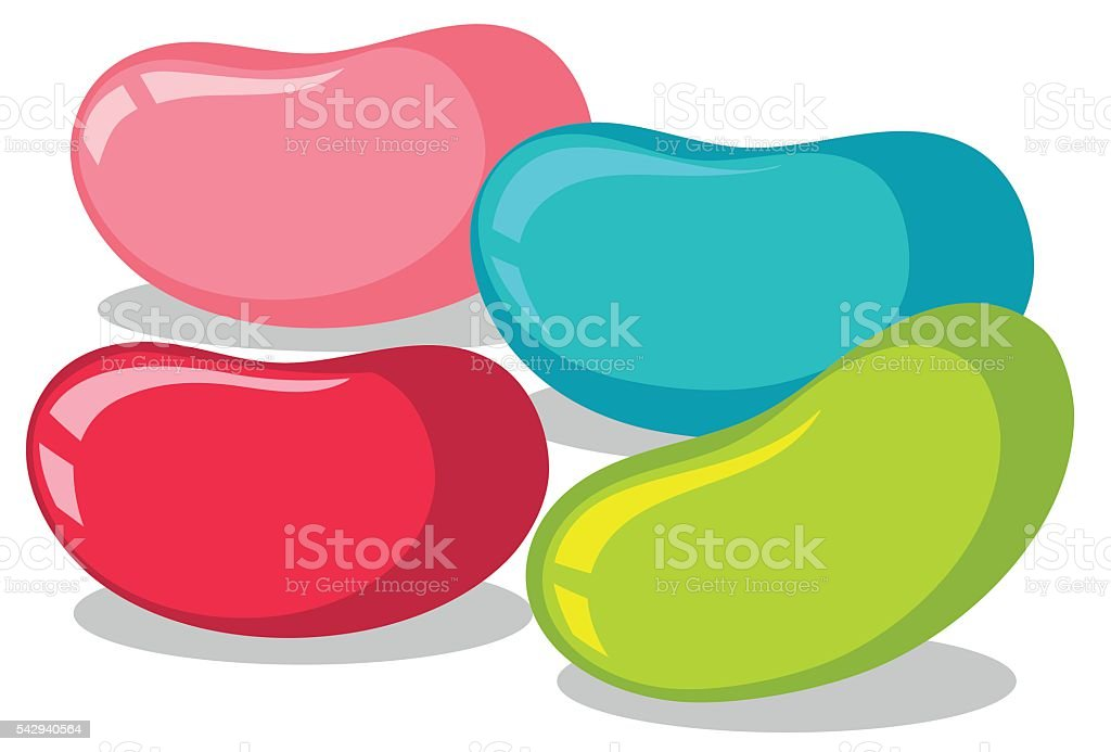 royalty free jellybean clip art vector images illustrations istock rh istockphoto com jelly bean clipart free white jelly bean clipart